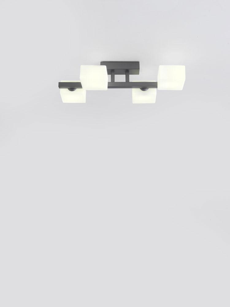Plafón de techo Dominó
